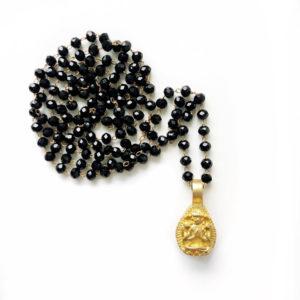 Collanina a rosario e Buddha